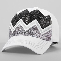 Chevron Sequin Hat