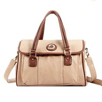 British Style Tote Cross Body Big Shoulder Bag
