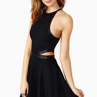 Nasty Gal Wreckless Skater Dress