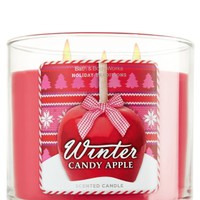 14.5 oz. 3-Wick Candle Winter Candy Apple