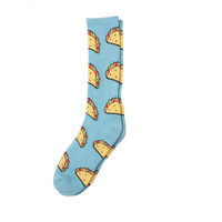 TACO SOCKS LIGHT BLUE – Odd Future