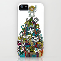 angel tree iPhone & iPod Case by Sharon Turner