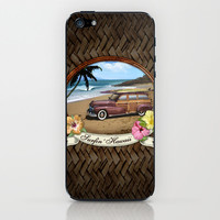 Surfin' Hawaii iPhone & iPod Skin by aura2000