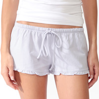 Ruffled PJ Shorts