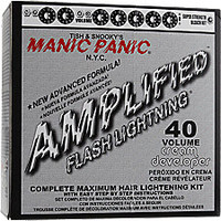 Manic Panic Flash Lightening 40 Volume Bleach Kit