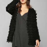 White Noise Raving Mad Cardigan  - Urban Outfitters