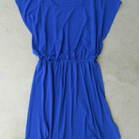 Royal Blue Hometown Dress : Vintage Inspired Clothing & Affordable Dresses, deloom | Modern. Vintage. Crafted.