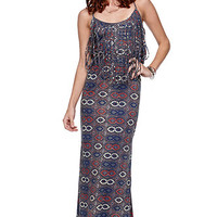 RVCA Burder Fringe Maxi Dress at PacSun.com