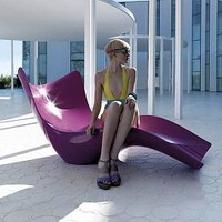 Vondom, Surf, Chaise, Lounge, Outdoor, Lounges, Pool, patio - HomeInfatuation.com