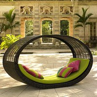 Neoteric Sampan Modern Outdoor Pod - HomeInfatuation.com.
