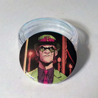 "Comic Book 1.5"" Button// Riddler"