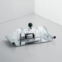 Alessi MGBUT Butter Dish - Style # MGBUT, Modern Butter Dish – Butter Keeper – Glass Butter Dish – Covered Butter Dish – Butter Dish with Lid | SwitchModern.com