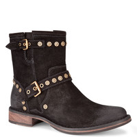 Women's Apparel | Cold Weather Shop | Studded Suede Ankle Boots | Lord and Taylor
