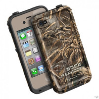 The Dark Flat Earth / RealTree Max5 LifeProof Limited-Edition Realtree iPhone Case for the iPhone 4s / 4