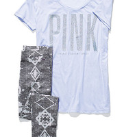 Boyfriend Tee & Legging Gift Set - PINK - Victoria's Secret