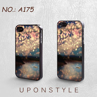 Phone Cases, iPhone 5 Case, iPhone 5s Case, iPone 5C case, iPhone 4 Case, iPhone 4s case, Disney Tangled, Light,Case for iphone, Case No-175