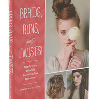 Chronicle Books Braids, Buns, and Twists