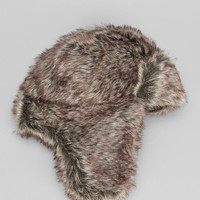 Faux-Fur Trapper Hat - Urban Outfitters