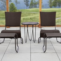 Agio Bali 5pc Wicker Set