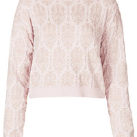 Knitted Quilted Baroque Jumper