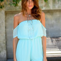 SERENITY PLAYSUIT (MINT)