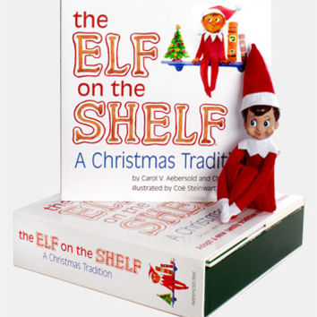 Carol Aebersold and Chanda Bell 'The Elf on the Shelf: A Christmas Tradition' Book & Boy Elf