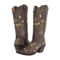 Stetson Summer Flowers Snip Toe Boot