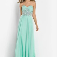 Blush 9795 at Prom Dress Shop