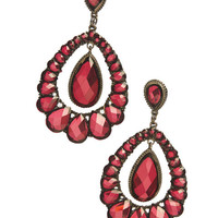 Large Teardrop Chandelier Earring | Wet Seal