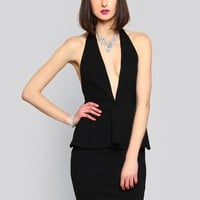 POSH HALTER DRESS