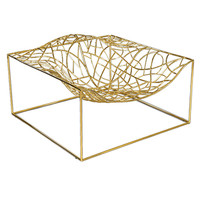 "Limited Edition ""Ad-Hoc"" Gold Chair by Jean-Marie Massaud"