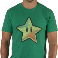Invincibility Star Nintendo Shirt