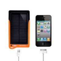 Poweradd™ Apollo 7200mAh High Capacity Solar Panel Portable Charger Backup Battery Power Bank for iPhone 5S 5C 5 4S 4, iPod Touch Nano, iPad 2 3 4 mini(Apple Adapters not Included), Samsung Galaxy Note 3 S4 S3 S2 Note 2, Blackberry, HTC, LG, Motorola, Sony