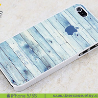 iPhone 5 Case iPhone 5S Case iPhone 5 Cover iPhone 5S Cover iPhone 5/5S Cover Rubber iPhone 5/5S Plastic. Pastel Color Wood