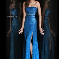 Sherri Hill 8542 at Prom Dress Shop