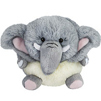 Mini Pygmy Elephant: An Adorable Fuzzy Plush to Snurfle and Squeeze!