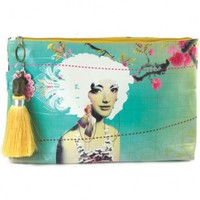 Wake Up Frankie - Fabulous Large Accessory Pouch : Teen Bedding, Pink Bedding, Dorm Bedding, Teen Comforters