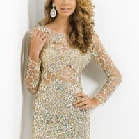 Blush 9773 at Prom Dress Shop