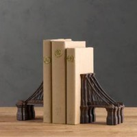 Brooklyn Bridge Bookends | Books & Bookends | Restoration Hardware