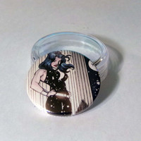 "Comic Book 1.5"" Button// Donna Troy"