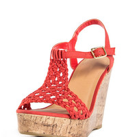 Braided Cork Wedge