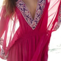 South Beach Swimsuits - zz - Debbie Katz DK Couture Aliyah Cover Up in Pink