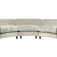 Astoria Upholstered Large Curved Sofa - Laura Ashley made to order