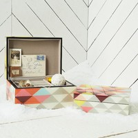 Mosaic Triangles Jewelry Box