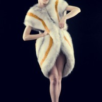 Reversible Fox Fur Coat | NOT JUST A LABEL