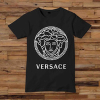 Hot versace black T-shirt Valentine's White Black Dsign t-shirt men S,M,L,XL