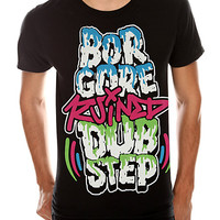 Borgore Ruined Dubstep Slim-Fit T-Shirt