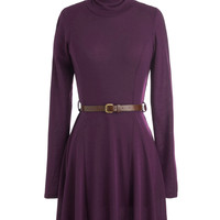 Zinfandel Zeal Dress in Grape | Mod Retro Vintage Dresses | ModCloth.com