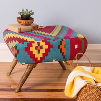 Livin' Lodge Ottoman | Mod Retro Vintage Decor Accessories | ModCloth.com