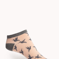 Dove Ankle Socks